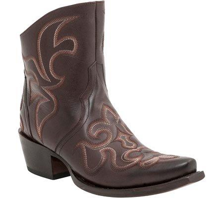 Cowboy Lucchese M4903 Da Donna In Pelle Vintage, Stivali Western In Pelle Di Vacchetta