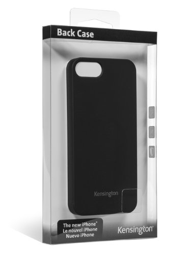 Kensington K39697WW Thin Back Case für Apple iPhone 5 schwarz