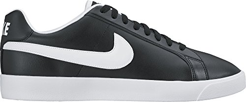 Nike Court Royale Lw Leather, Zapatillas de Deporte Hombre Negro (Black / White)