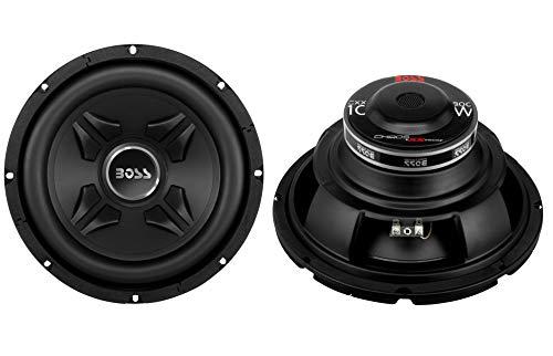 "2 New Boss CXX10 10"" 1600W 4-Ohm Car Audio Power Subwoofer S"