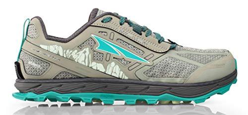 Altra Women's Lone Peak 4 Low RSM Waterproof Trail Running Shoe, Gray - 10 B(M) US