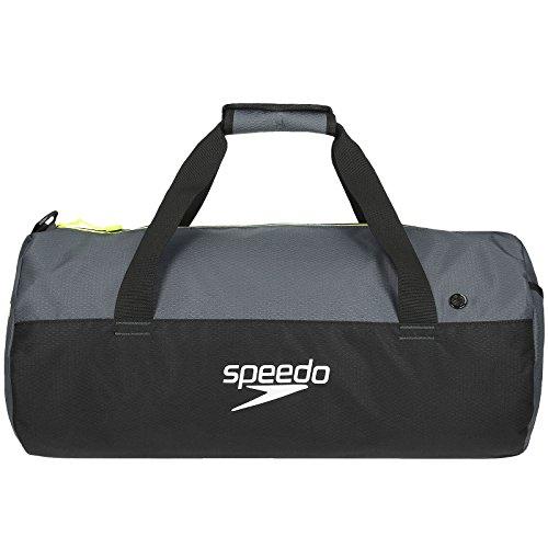 Speedo Waterproof Gym Pool 30L Duffel - Black/Grey - OS