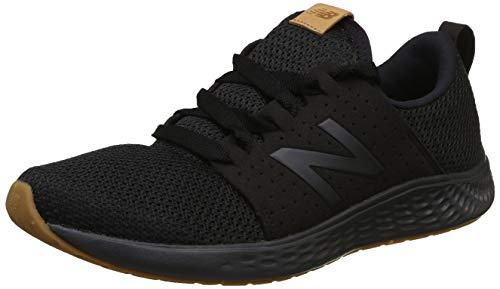 New Balance Men's SPT V1 Fresh Foam Sneaker, Black, 12 XW US