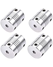 BIGTREETECH Direct Flexible Coupling 5mm to 5mm Coupler NEMA 17 Coupling Shaft for 3D Printer or CNC Machine (Pack of 4 5mm-5mm)