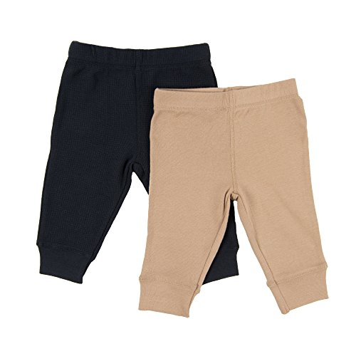 Leveret Solid Baby Crawling Pants & Legging Set Kids Baby Pants (Size 3-24...