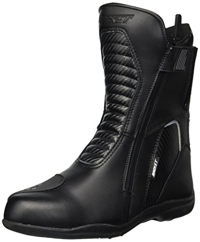 Joe Rocket Men's Nova Leather Boots (Black, Size - Rocket Joe Mens