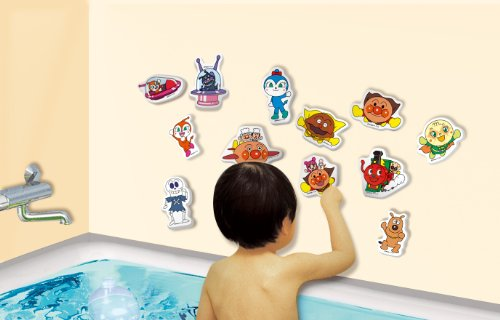 (Set can not be selected) Anpanman 5 pieces set suddenly in Anpanman bath (japan import) by Agatsuma