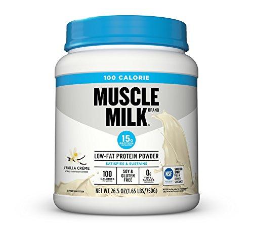 (Muscle Milk 100 Calorie Protein Powder, Vanilla Crème, 15g Protein, 1.65 Pound)