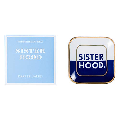 Draper James Decorative Accent Mini Trinket Tray Sisterhood ()