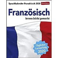 Sprachkalender Französisch 2020 12,5x16cm