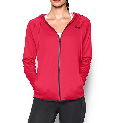 Under Armour Women's Storm Armour Fleece Lightweight Full Zip Hoodie, Knock Out (656), X-Small