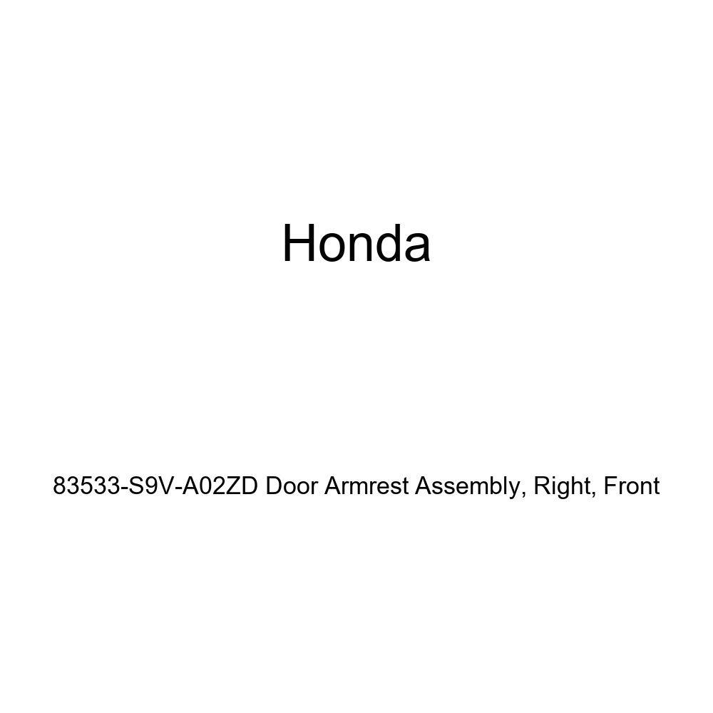 Honda Genuine 83533-S9V-A02ZD Door Armrest Assembly Right Front