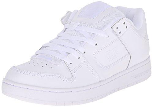 DC , Chaussures de skateboard pour homme - Blanc - White/White/White,