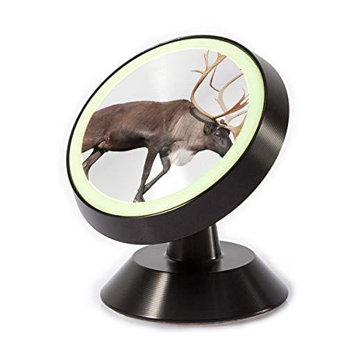 (Magnetic Phone Car Mount Holder,Reindeer Photos Phone Holder - Universal Car Phone Mount Metal Magnetic Stand Holder)