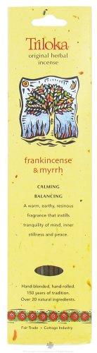 Triloka - Original Herbal Incense Frankincense & Myrrh - 10 Stick(s)
