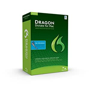 Dragon Dictate for Mac 3.0 with Bluetooth Headset