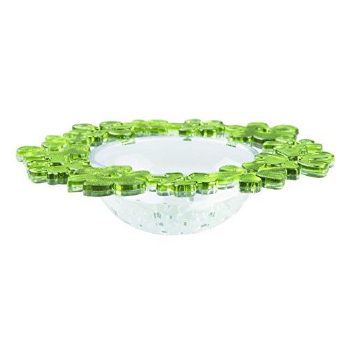 InterDesign Blumz Sink Strainer Green