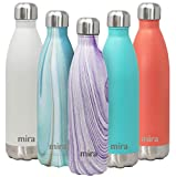 MIRA 25 Oz Stainless Steel Vacuum Insulated Water Bottle | Double...