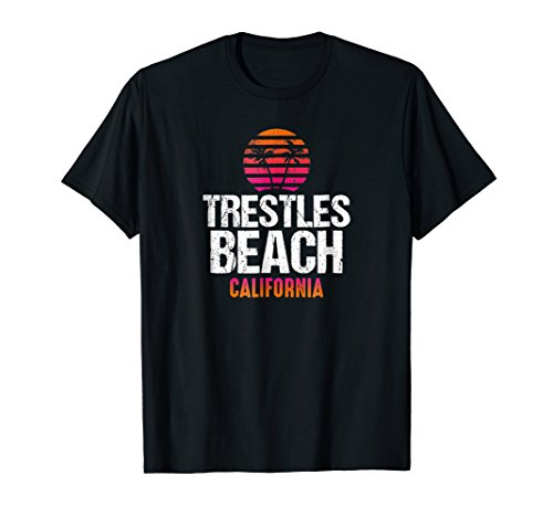 Beach Lover San Clemente CA T-Shirt (Trestle Tree)