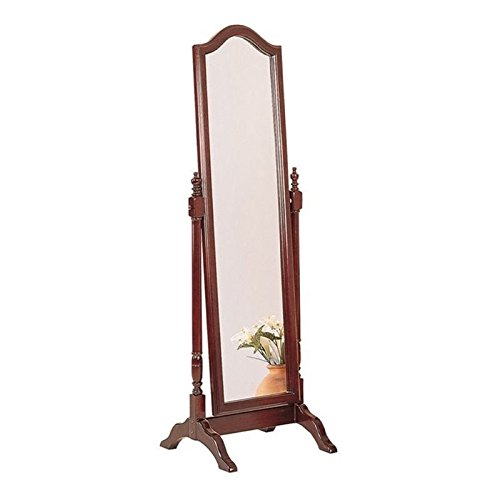 Buy bowery hill cheval mirror in mahogany