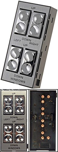 APDTY 012119 Power Window Switch - Front Left, 4 Button ()