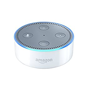 Certified Refurbished All-New Echo Dot (2nd Generation) - White