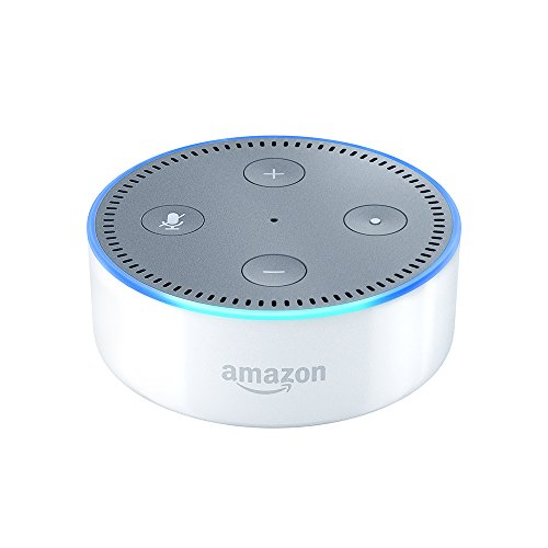 Echo Dot (2nd Generation) - Smart speaker with Alexa - White by Amazon