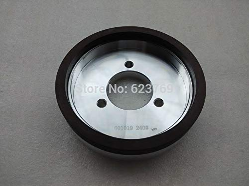 Maslin RZZ Resin Grinding Disc Resin Bond Abrasive Cup Wheel Glass Edging Disc Hole Dia.50mm Grit #240 - (Grit: 240, Size: Wheel diameter 150mm)