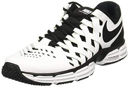 935b597007341 Nike Men's Lunar Fingertrap Trainer Sneaker White/Black 7.5 D(M) US