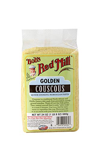 Bobs Red Mill Golden Couscous, 24 Oz (4 Pack)
