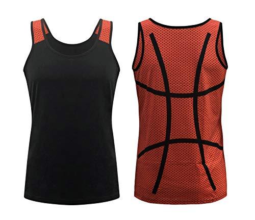 ILTEX Sports Tank Tops for Mom Fans Apparel Baseball Softball Basketball Soccer Volleyball (Basketball, Medium)