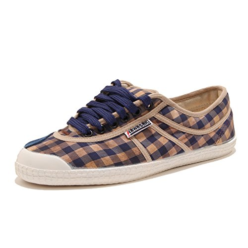 Donna Basic Sneaker Women Beige 23 Bianco Shoes Senza Scarpa New Blu SCATOLA 34046 Kawasaki x8wqRF4C