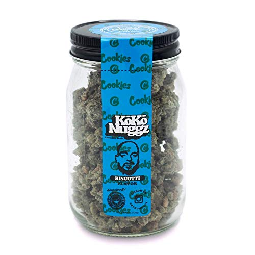 Koko Nuggz Non Medicated 4.5oz Jar - Biscotti (Flower Cbd)