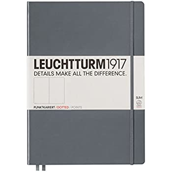 Leuchtturm1917 Classic Hardcover Dotted Pocket Notebook Anthracite