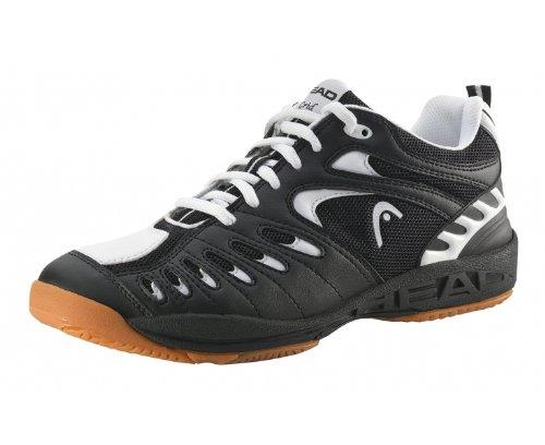 Head Grid Indoor Men's Shoe (7, Black/White)