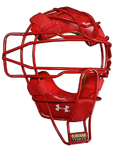 Under Armour Pro Catchers Face Masks Scarlet (Red) by Under Armour