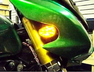 cat1986cat1986 Motorcycle flush mount led turn signal clear lens for aftermarket universal bike kawasaki ninja zxr cat1986cat1986® cat1986cat198619862