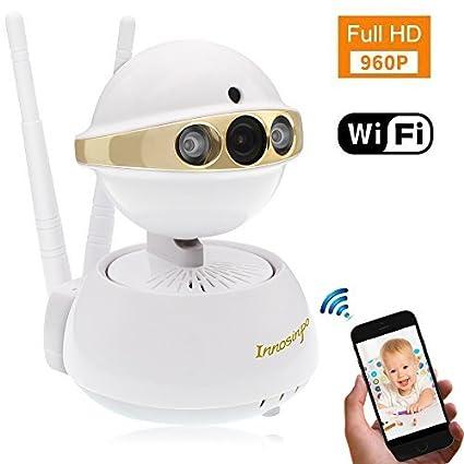 Amazon.com: FHD 960P - Cámara IP WiFi para interiores con ...