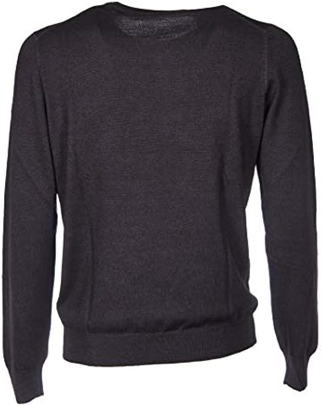 Fay Luxury Fashion Męskie NMMC139249TCQRB999 Schwarz Wolle Sweater | Herbst Winter 19: FAY: Odzież