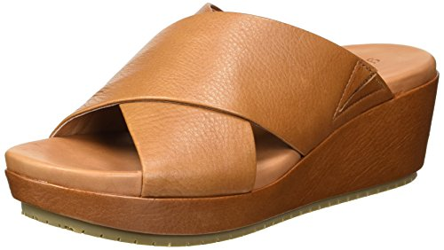 (Gentle Souls by Kenneth Cole Women's Mikenzie Platform X-Band Slide Sandal Sandal, cognac, 8.5 M US)