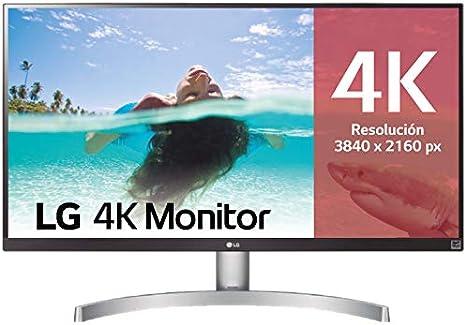 LG 27UK600-W - Monitor 4K UHD de 68,6 cm (27