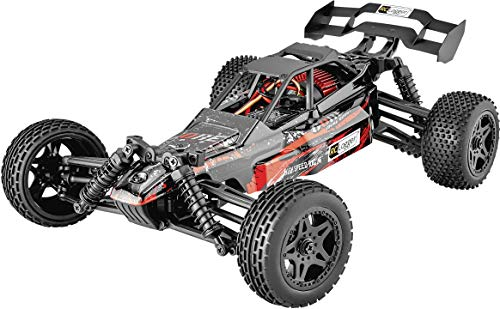 10 Electric Rc Car - RC LOGGER Core Brushed 1:10 XS RC Buggy, Model No.: 70003RC, Electric Power, 4WD, RTR, 2.4 GHz, Model Car, with USB Charger