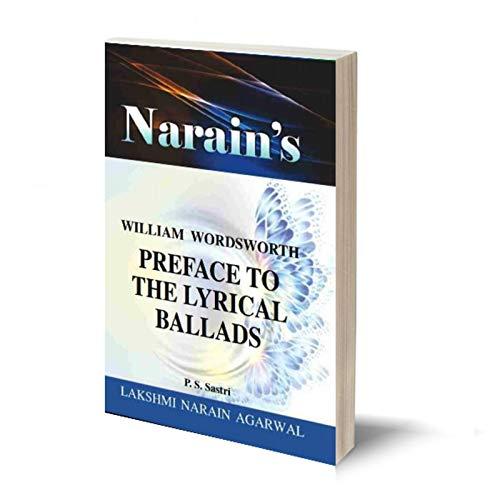 Narain's Preface To The Lyrical Ballads * (English): Wordsworth [Paperback] Sastri & Khandelwal
