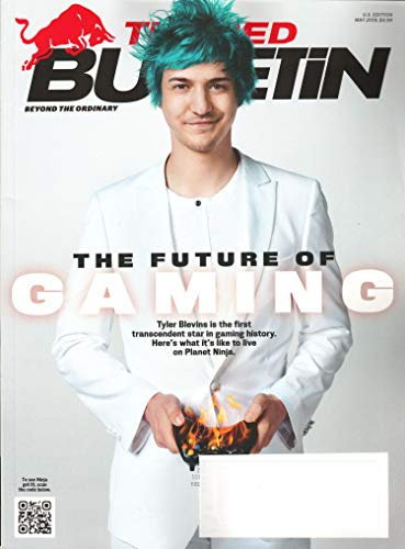 The Red Bulletin Magazine May 2019 | Ninja - Tyler Blevins - The Future of Gaming]()