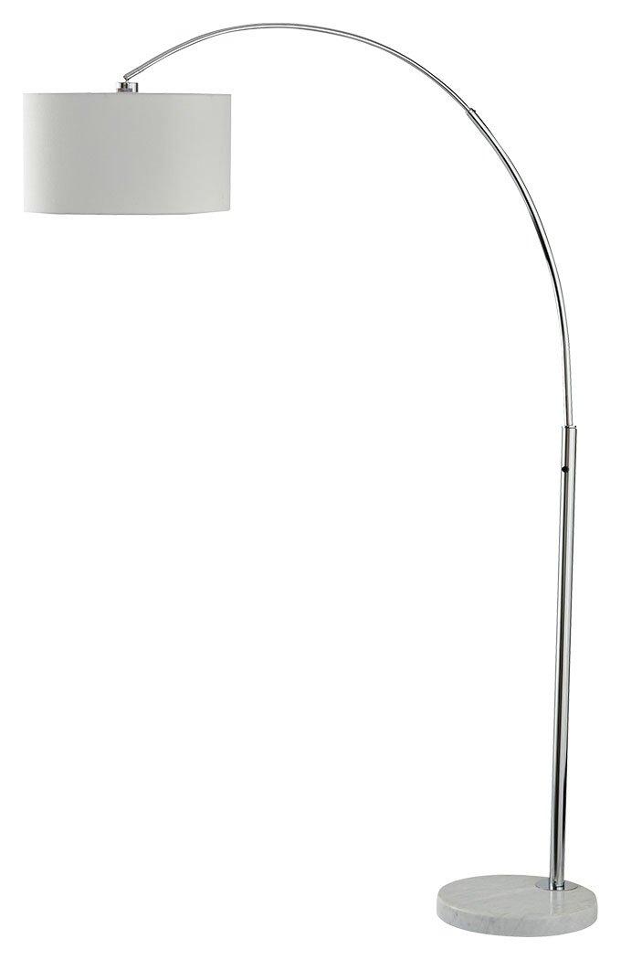 Signature Design by Ashley L725079 Areclia Arc Lamp, Chrome Finish by Signature Design by Ashley