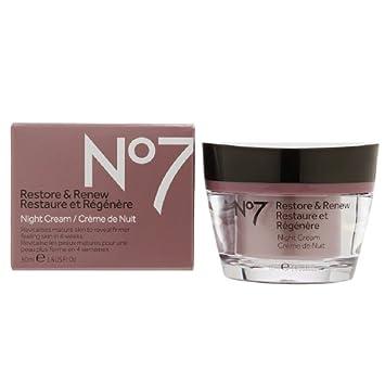 No7 Restore and Renew Night Cream - 1 6 oz
