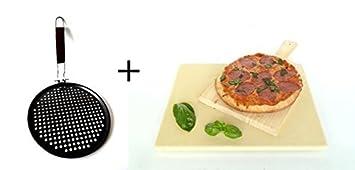 Pizzastein Brotbackstein Schamotte 40 x 30 Pizzaschaufel
