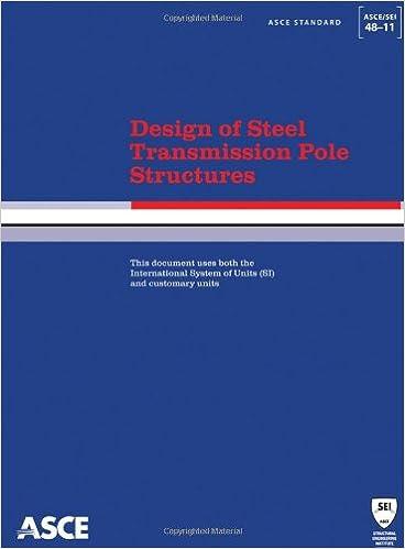 Design of steel transmission pole structures (standard asce/sei 48.