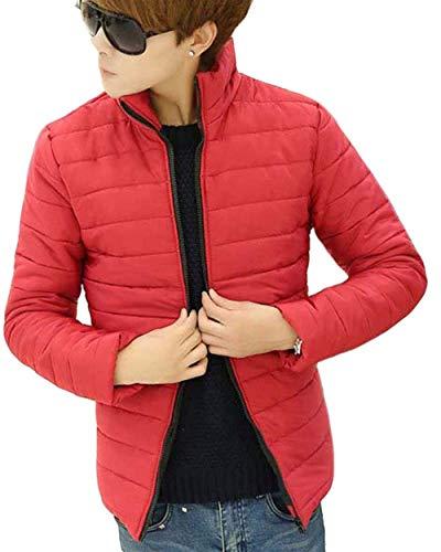 Rot BOLAWOO Jacket Jacket with Jacket Short Coat Long Zipper Fashion Sleeve Down Zipper Brands Outwear Men's Winter Men's W4rBT