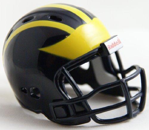 MICHIGAN WOLVERINES Riddell Revolution POCKET PRO Mini Football Helmet by Unknown